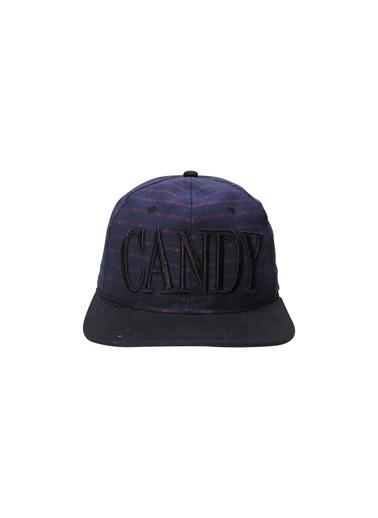 Laslusa CANDY Hip Hop Snapback Şapka Lacivert
